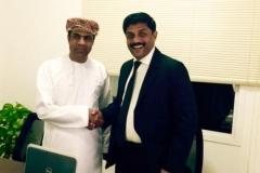 Mubarak Al Hadadi Business Meet