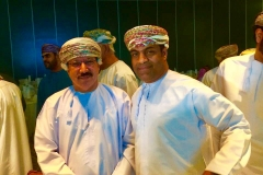 Mubarak Al Hadadi with Housing Minister