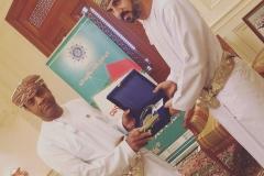 Mubarak Al Hadadi Oman and Qaboos Award