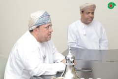 Mubarak with Mr. Abdul Amir