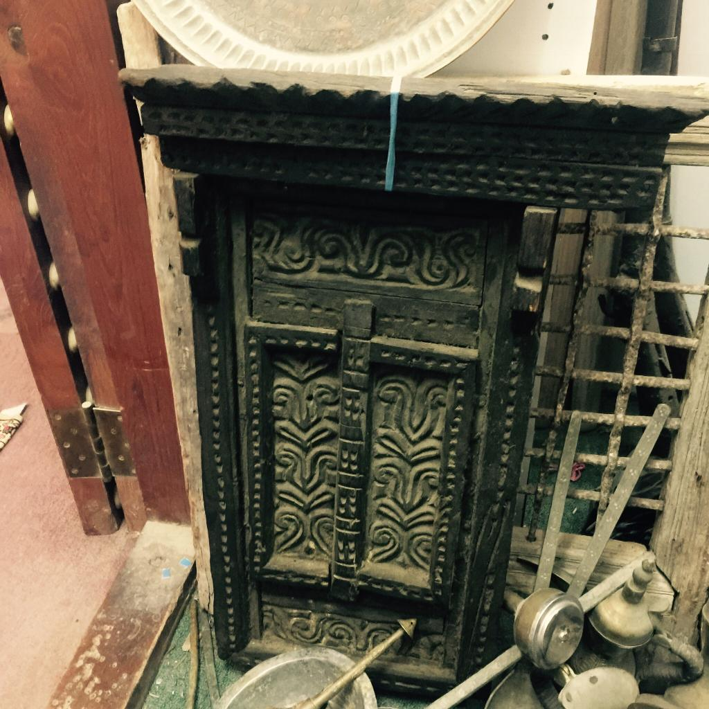 Oman Historical Wooden works