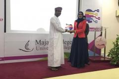 Mubarak Al Hadadi Awarding