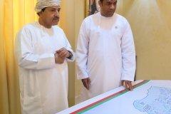 Mubarak Al Hadadi with Minister